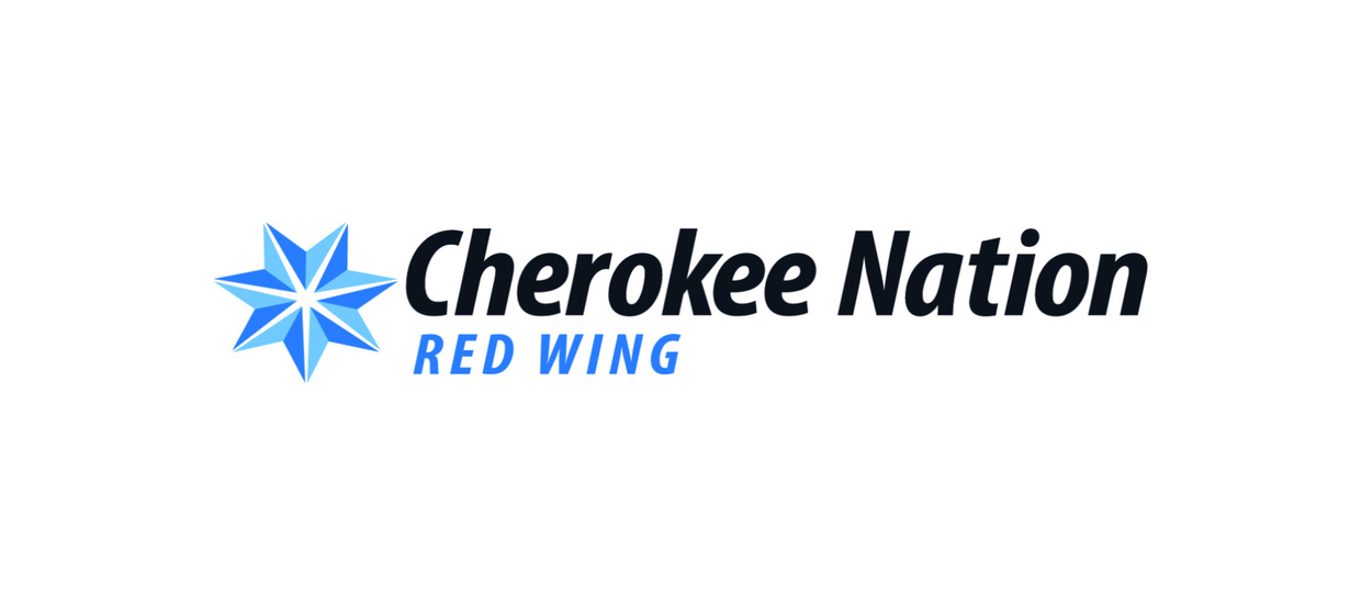 Cherokee Nation Red Wing logo