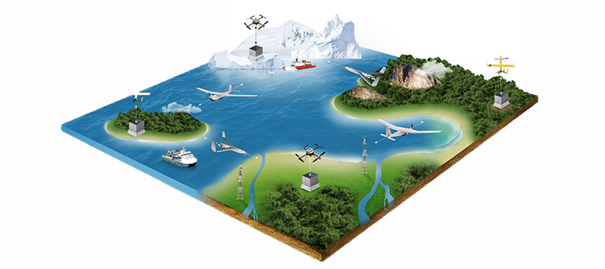 Unmanned Systems Graphic